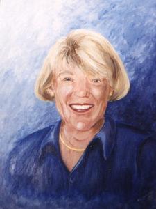 Portrait painted by Heather Salamone